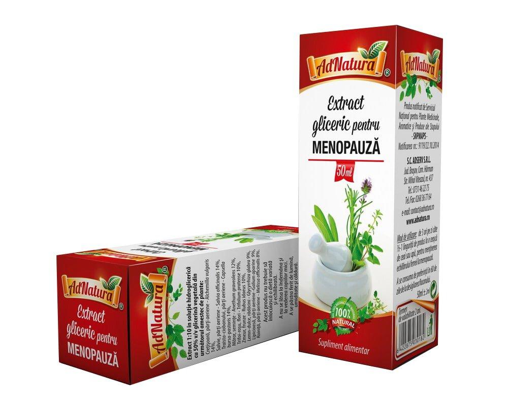Menopauza se poate trata natural